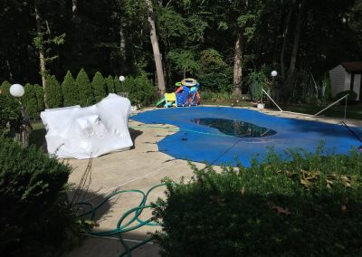 NJ Shrink Wrapping does pools