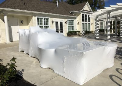 NJ Shrink Wrapping - Outdoor Patio Furniture Wrapping in NJ 5