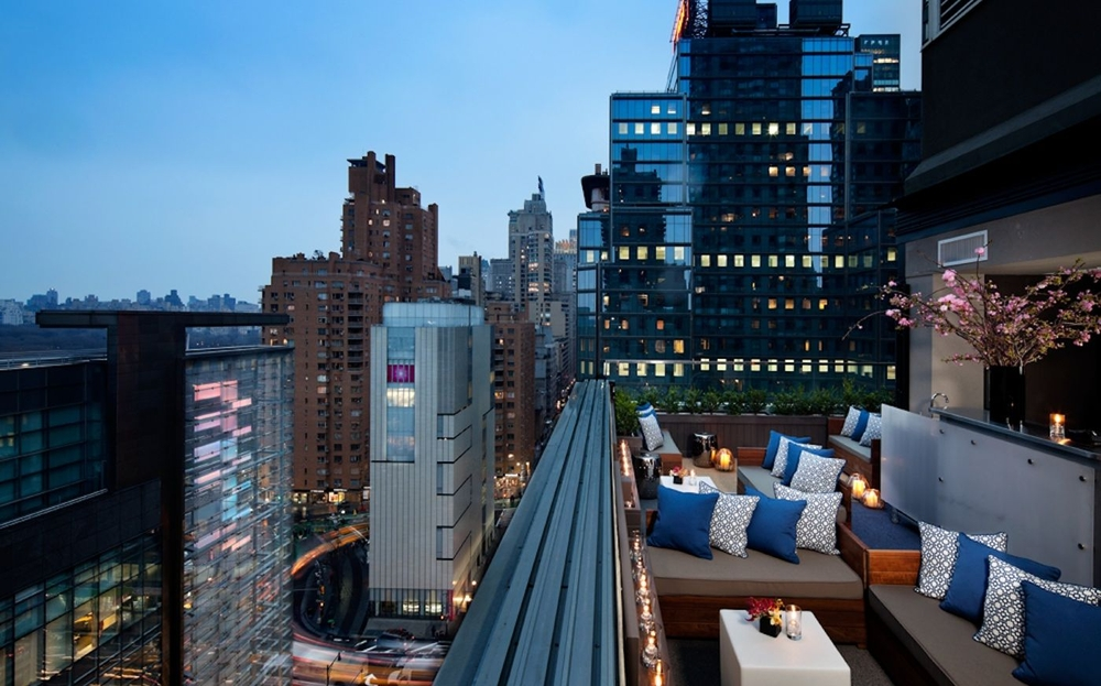 NYC Shrink Wrapping provides rooftop furniture wrapping in NYC