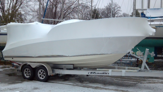 NYC Shrink Wrapping provides boat shrink wrapping in New York City