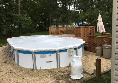 NJ Shrink Wrapping - Pool Outdoor Poll Furniture Covering 1