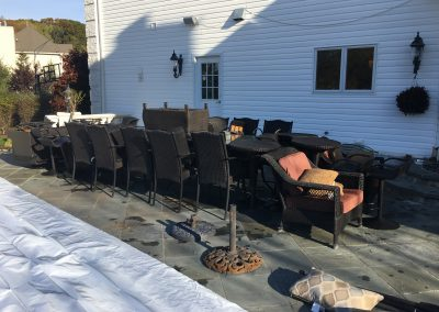 NJ Shrink Wrapping - Outdoor Patio Furniture Wrapping in NJ