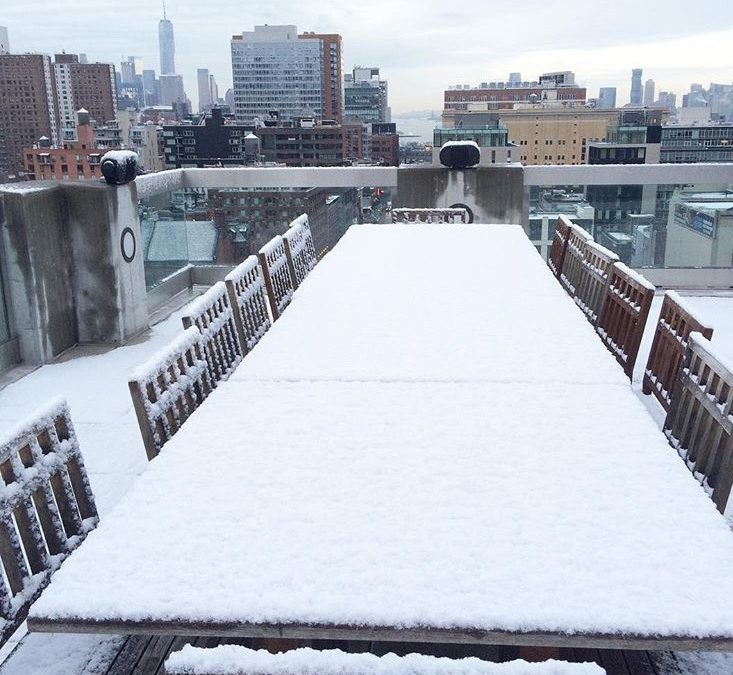 Is your Rooftop Furniture Protected for Winter?