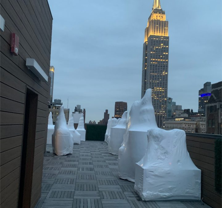 Time to Shrink Wrap Your Rooftop Patio Furniture in NYC